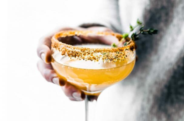 Honey Roasted Pear Mocktail