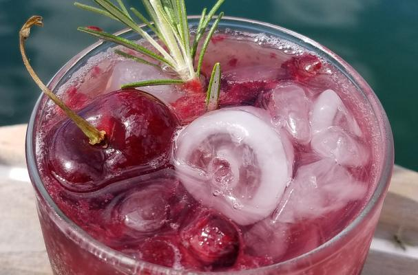 Cherry Shrub Cocktail recipe