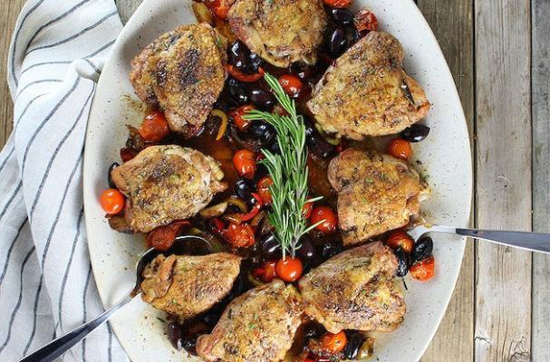 Chicken Fricassee Abruzzo