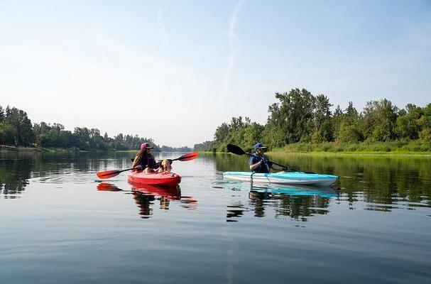 kayaking in Salem Oregon