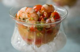 Spicy Shrimp Ceviche