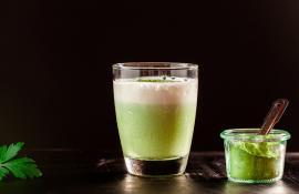 Matcha Green Tea Cocktail