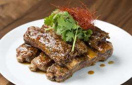 Chef Morimoto's Hoisin Chili Sticky Spare Ribs Recipe