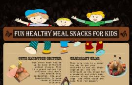 Infographic: Fun Healthy Meal Snacks for Kids