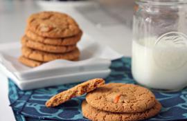 Gluten Free Kumquat and Gingersnap Cookies