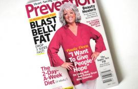 Paula Deen Talks Healthy Southern Food in 'Prevention'