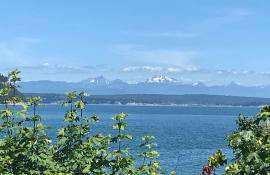 View from Whidbey Island