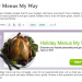 Better Homes and Gardens Menu Planning Tool