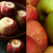 quick and easy DIY apple candle holders