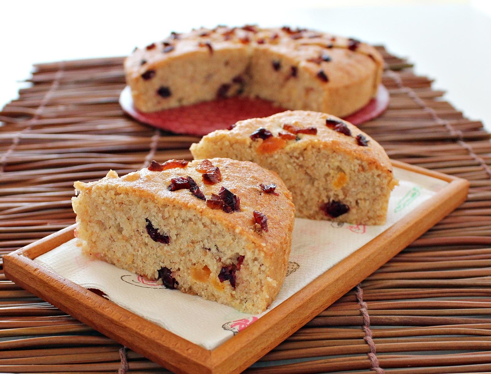 Wholemeal Flour Christmas Cake